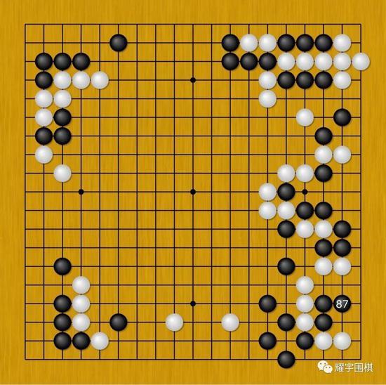 图5:这是右边进行数回合后的局面,双方进行了两次转换。