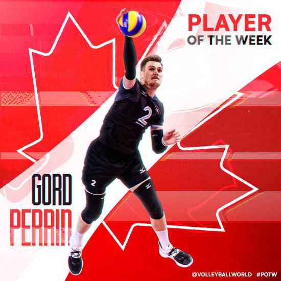 FIVB球星|佩林:期待并努力带领加拿大走得更远
