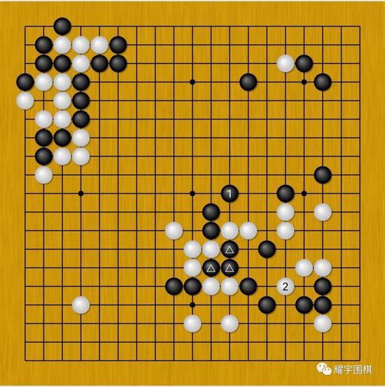 胡耀宇自评:与李世石的首次较量 漂亮的赢棋(谱)