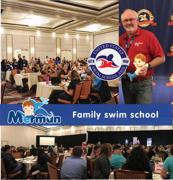 觅蒙体智能亲子游泳俱乐部受邀亮相美国泳校协会年会