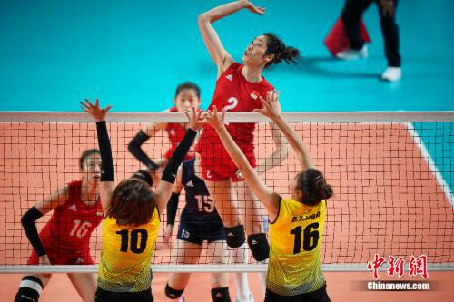 中国女排打亚洲第五太轻松 亚运碰日韩才遇挑战