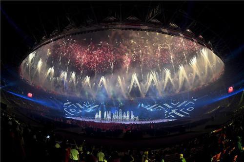 中国领先体育品牌361°鼎力支持亚运会的成功举办