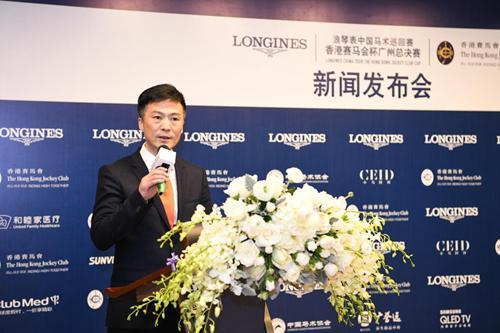 中国马术协会秘书长钟国伟