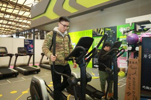 舒华联合光猪圈打造智能化健身房