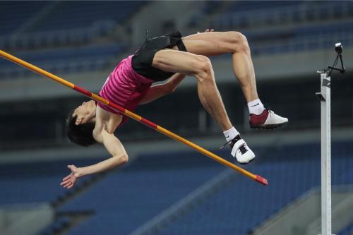 王宇最终以2米28的成绩轻松夺冠。图片来源:组委会供图