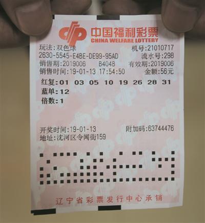 新手56元蒙中双色球551万 感谢朋友带上道-票