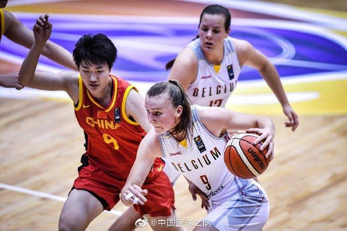 U19女篮世界杯-国青女篮52-64比利时 李缘19分