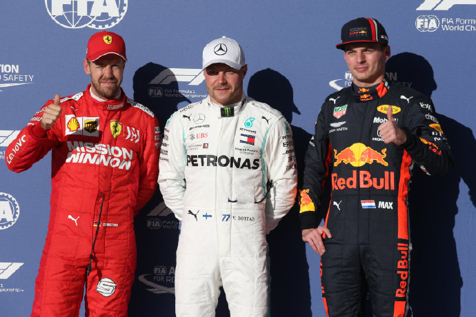 F1美国站排位赛:博塔斯杆位