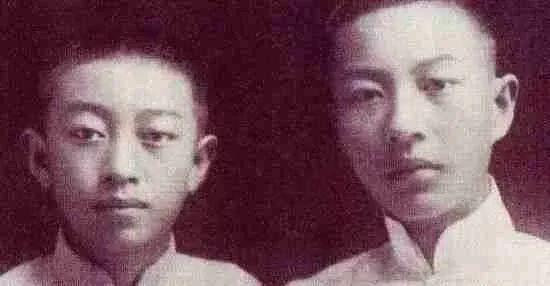 吴清源(左)与兄长