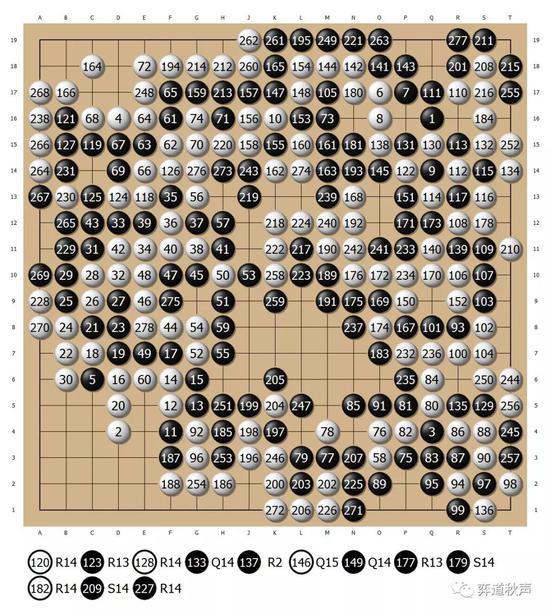 张栩执白278手4目半胜井山裕太