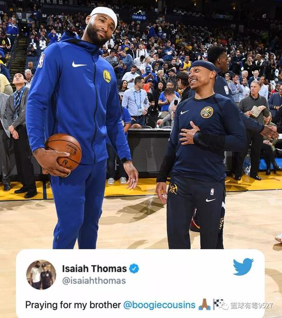 突发!考辛斯重伤已确诊,他的NBA生涯凉了!