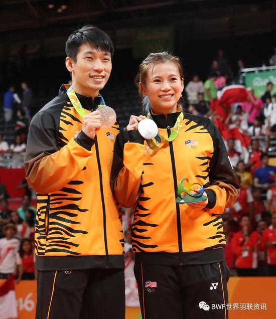 吴柳萤第三次出战奥运会 将出任马来西亚旗手