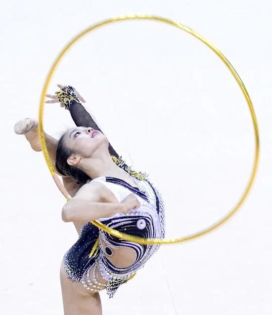 收获冠军赛全能冠军 赵雅婷向奥运资格继续前进