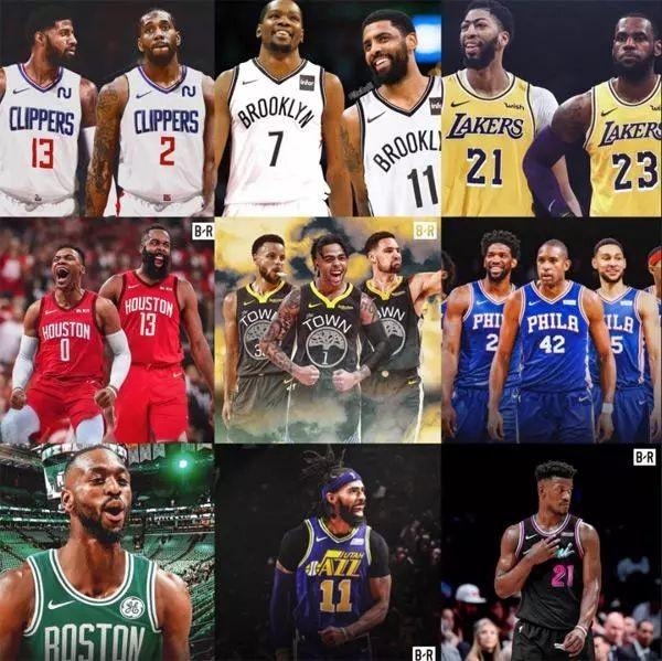 收视率全面下滑!12大巨星改换门庭也帮不了NBA
