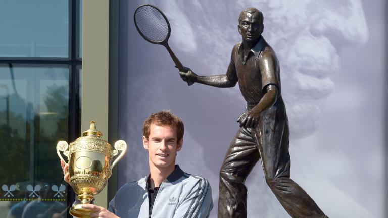 穆雷是两届温网冠军
