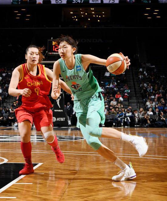 又一中国球员宣布暂时离开美国打球....