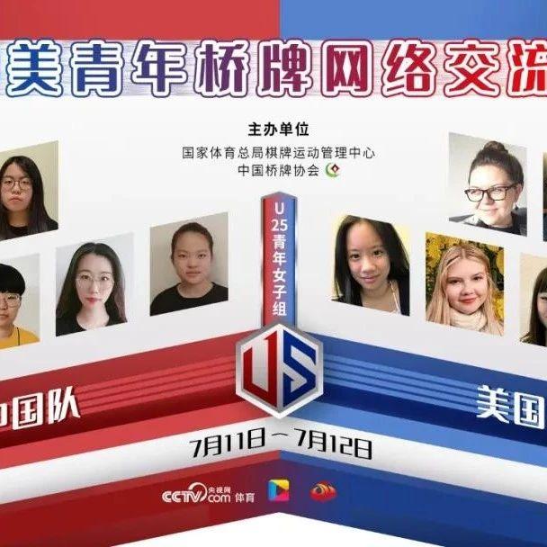 中美青年桥牌网络交流赛 中国队连战连胜领先对手