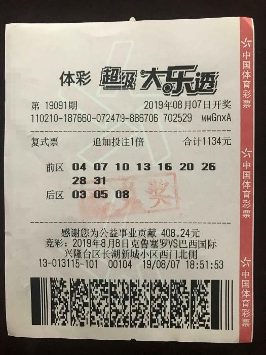 盘锦购彩团命中大乐透二等266万 同步直播领奖过程