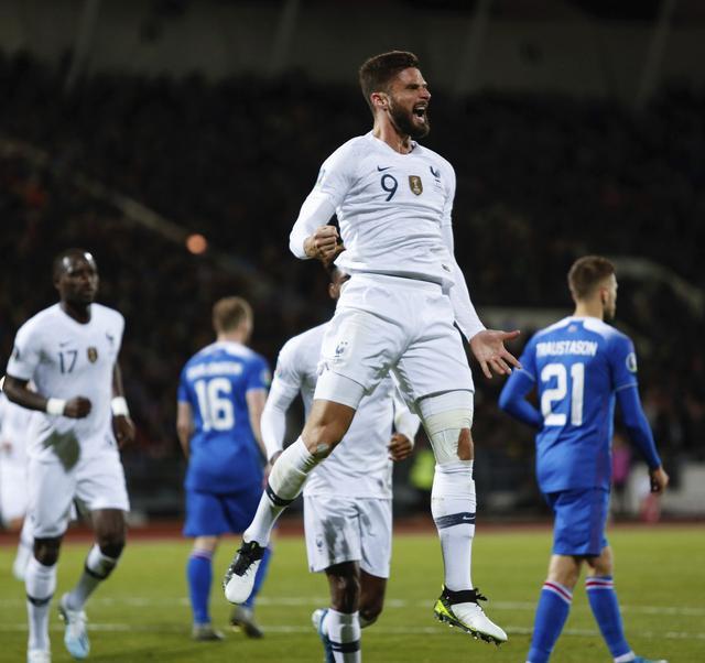 网络民调:69%的法国球迷支持吉鲁参加欧洲杯