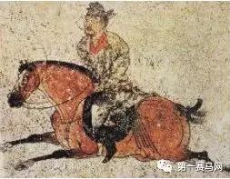 (唐)乾陵章怀太子墓中的《打马毬图》