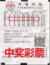 彩友守号多年擒双色球556万:买彩是爱好更是爱心