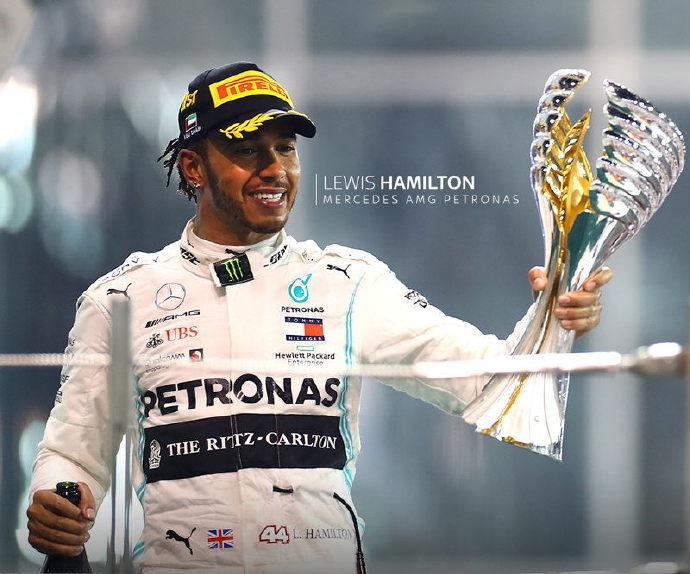 F1阿布扎比站汉密尔顿夺冠