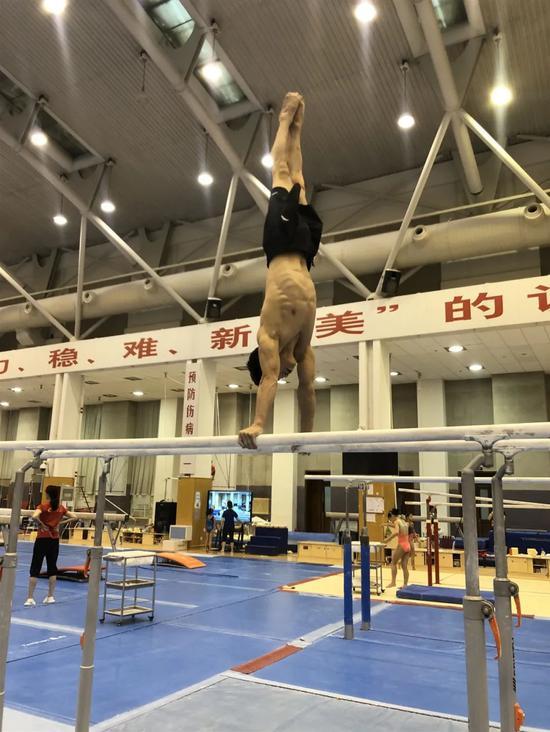 体操队进入冬训冲量阶段 封闭训练已经满一周年