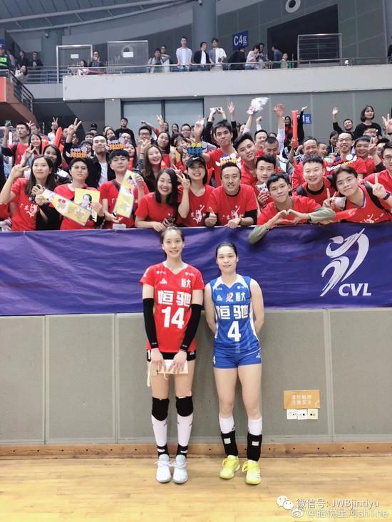 外媒关注中国女排超级联赛 广东女排续约两大国手