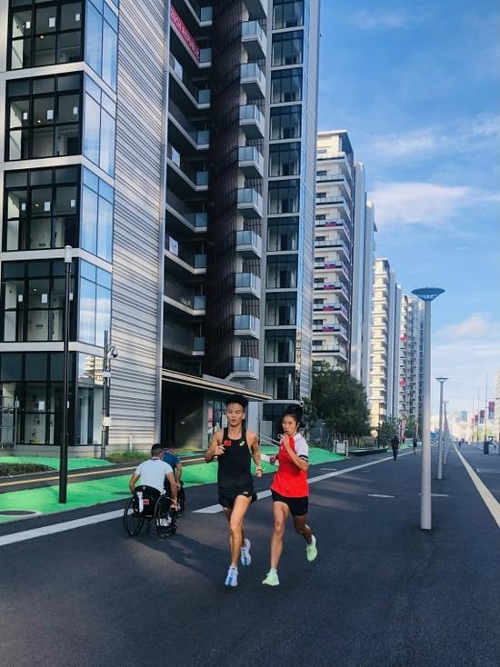 开幕倒数三天 中国运动员在东京积极备战残奥会