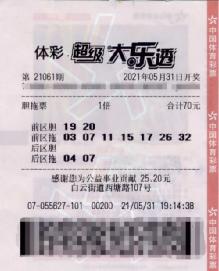 女彩民守号三期中大乐透652万 奖金留着培养宝宝