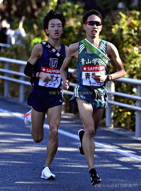 完成三区连超7人的青山主将森田步希