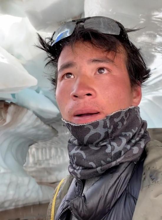 朋友讲述真实的西藏冒险王 冰川遇难因太大意?