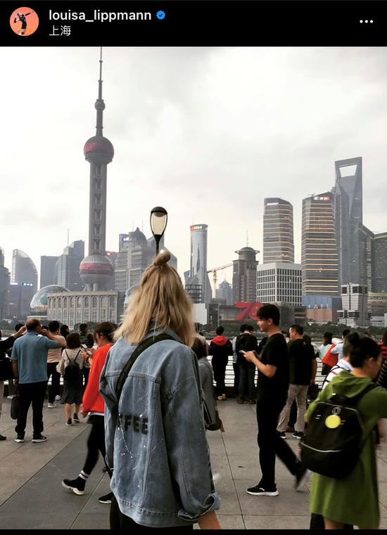 在路上!上海女排外援利普曼 启程征战排超新赛季