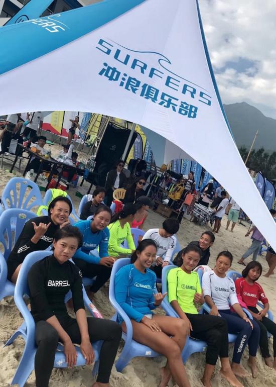 【热点】2019年中国冲浪冠军巡回赛暨U系列赛事举行