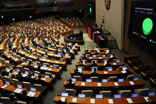 3月30日韩国国会召开第358届本会会议