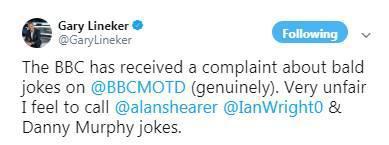 节目中涉嫌歧视秃顶人群,莱因克尔遭观众投诉