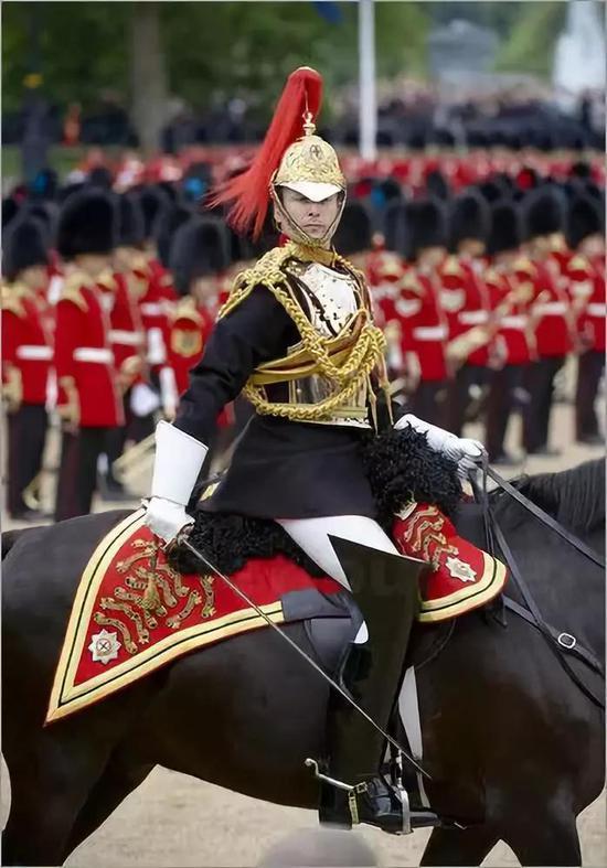 威风凛凛的皇家骑兵