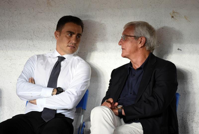 图说:在里皮不再执教国足后,卡纳瓦罗必要积累更众经验。