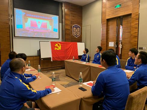 强化党建引领 江苏苏宁5名党员球员带头争创一流