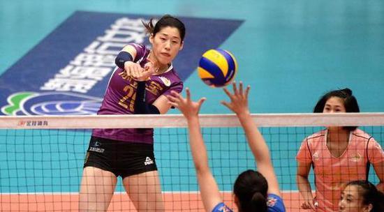 刘晓彤的加盟增强了天津的进攻威力