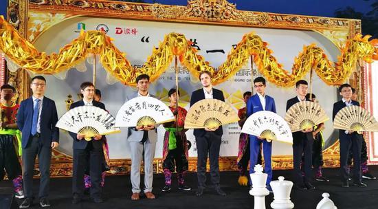 第三届读特杯大师赛开幕 叶江川:龙岗是国象福地
