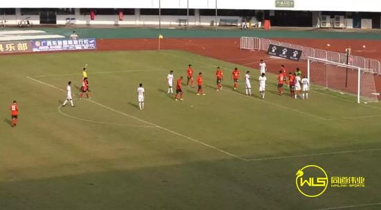 52分钟,成都兴城,32号马晓磊进球,0-1