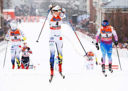 越野滑雪起源于北欧,1924年首届冬奥会就被列为正式比赛项目