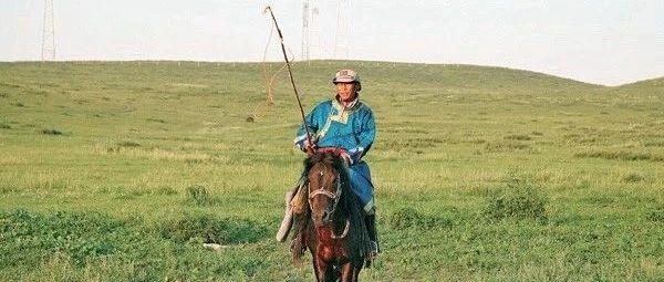 草原上的牧馬人