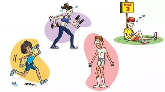 狂热跑者10个健康习惯:装备到处放 随时来补水