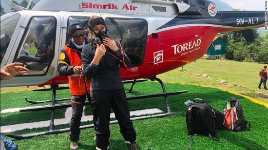 直升机声援已经被当成了一栽营业。