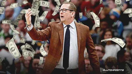 NBA又一份顶薪合同!联手小卡夺冠 他实至名归