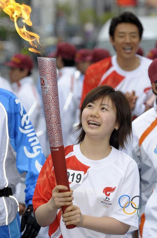 福原爱的刻苦和努力为日本女乒在国际乒坛占据一席之地