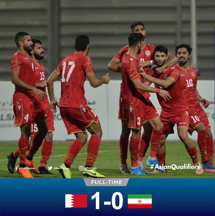 伊朗客场1球小负巴林
