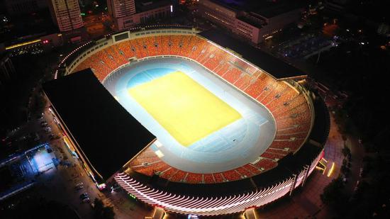陕西省体育场完成翻新改造工作 将承办十四运比赛